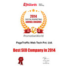 PromotionWorld Awards: Best SEO Company 2014