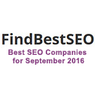 Best SEO Companies for September 2016