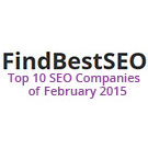 #1 of Best SEO Companies of February 2015