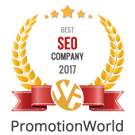 PromotionWorld Awards: Best SEO Company 2017
