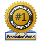 PromotionWorld Awards: Best Enterprise SEO Company October 2016