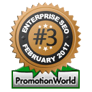 PromotionWorld Awards: Best Enterprise SEO Company February 2017