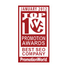 PageTraffic has been selected for PromotionWorld's Best SEO Company