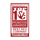 PromotionWorld Awards: Best SEO Company