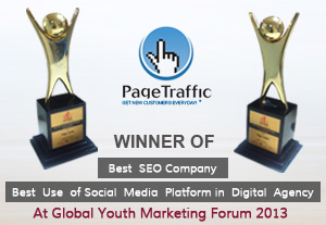 PageTraffic wins Best SEO Company & Best Use of Social Media Awards