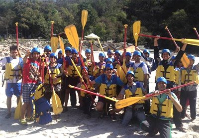 Water Rafting @ Rishikesh