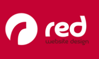red web design logo