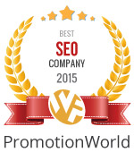 PageTraffic Wins the 2015 Best SEO Company Award by Promotion World