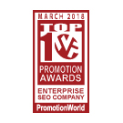Best Enterprise SEO Company Awards PromotionWorld